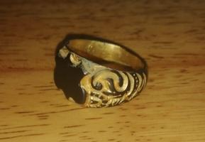 Щитовой перстень 19 век... Ушедшая эпоха.