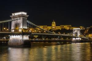 Будапешт. Цепной мост и королевский дворец