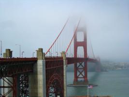 Мост Красные ворота в Сан Франциско