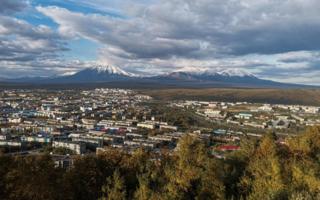 """""""Домашние"""" вулканы, Петропавловск-Камчатский"""