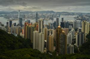 ГонКонг городок небольшой...