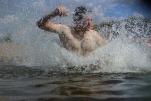 Вход в воду
