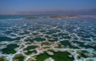 Кружево Мертвого моря...