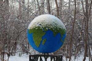 Зима в северном полушарии