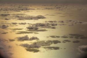 океан воды и море облаков
