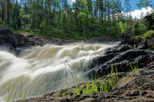 Карелия, Войницкий водопад