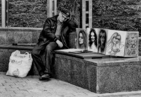 Жизнь трудна и нелегка у русского художника