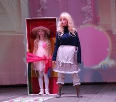 кукла.юные таланты.