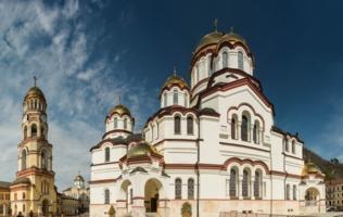 Ново-Афонский монастырь, шедевр зодчества