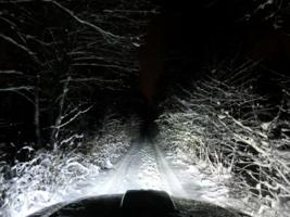 Зимняя колея