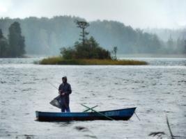 Остров как тень рыбака