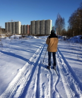 Лыжная прогулка