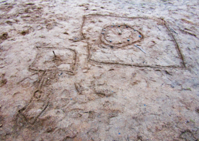 Песочный абстракционизм