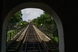 Колея, вид из тоннеля