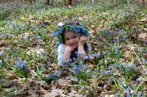 Девочка Весна.