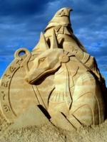 Древнеегипетский бог Анубис.
