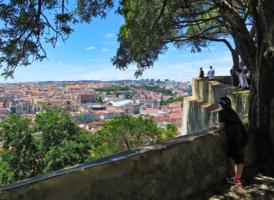 Над крышами Лиссабона