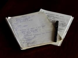 Письма старости... долги и рецепты...