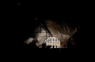 Выезд из туннеля