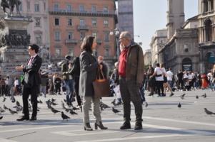 Встреча на площади