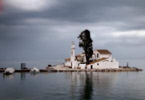 Православный монастырь на о. Корфу