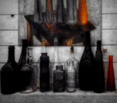 Этюд с бутылками