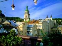 Балконный пейзаж