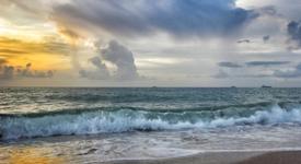 Волны прибоя шепот