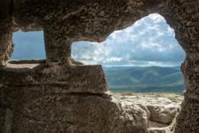 Из окна древней крепости