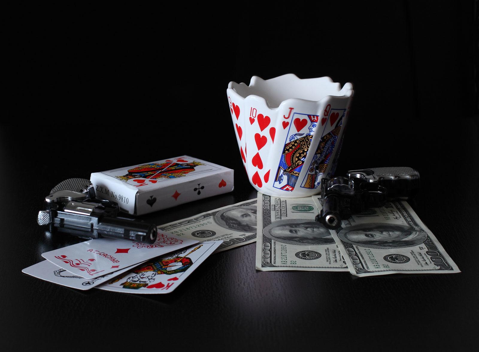 Картинка карты деньги пистолет