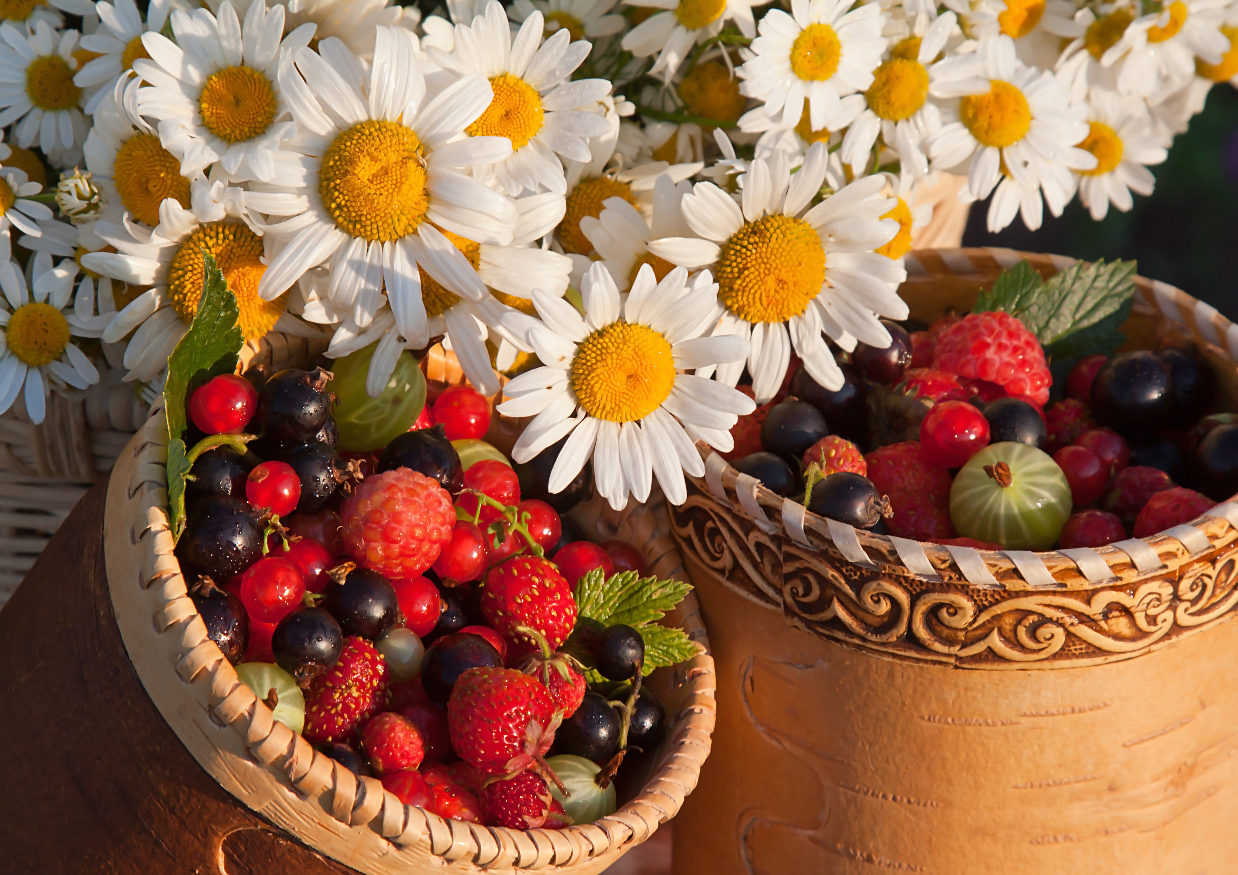 стоит пытаться ягоды и цветы картинки делом рисуем