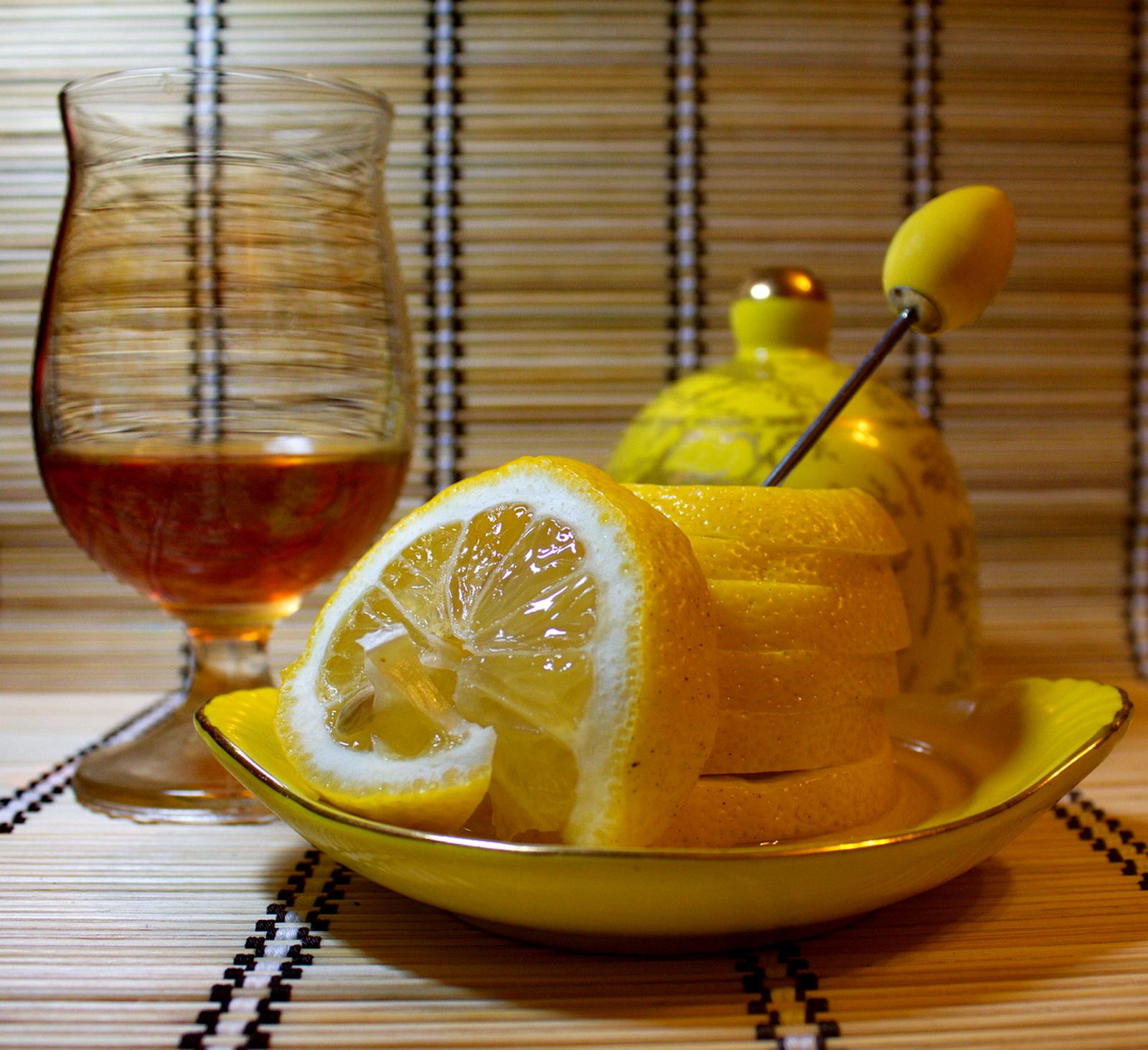 Лимон и коньяк картинки