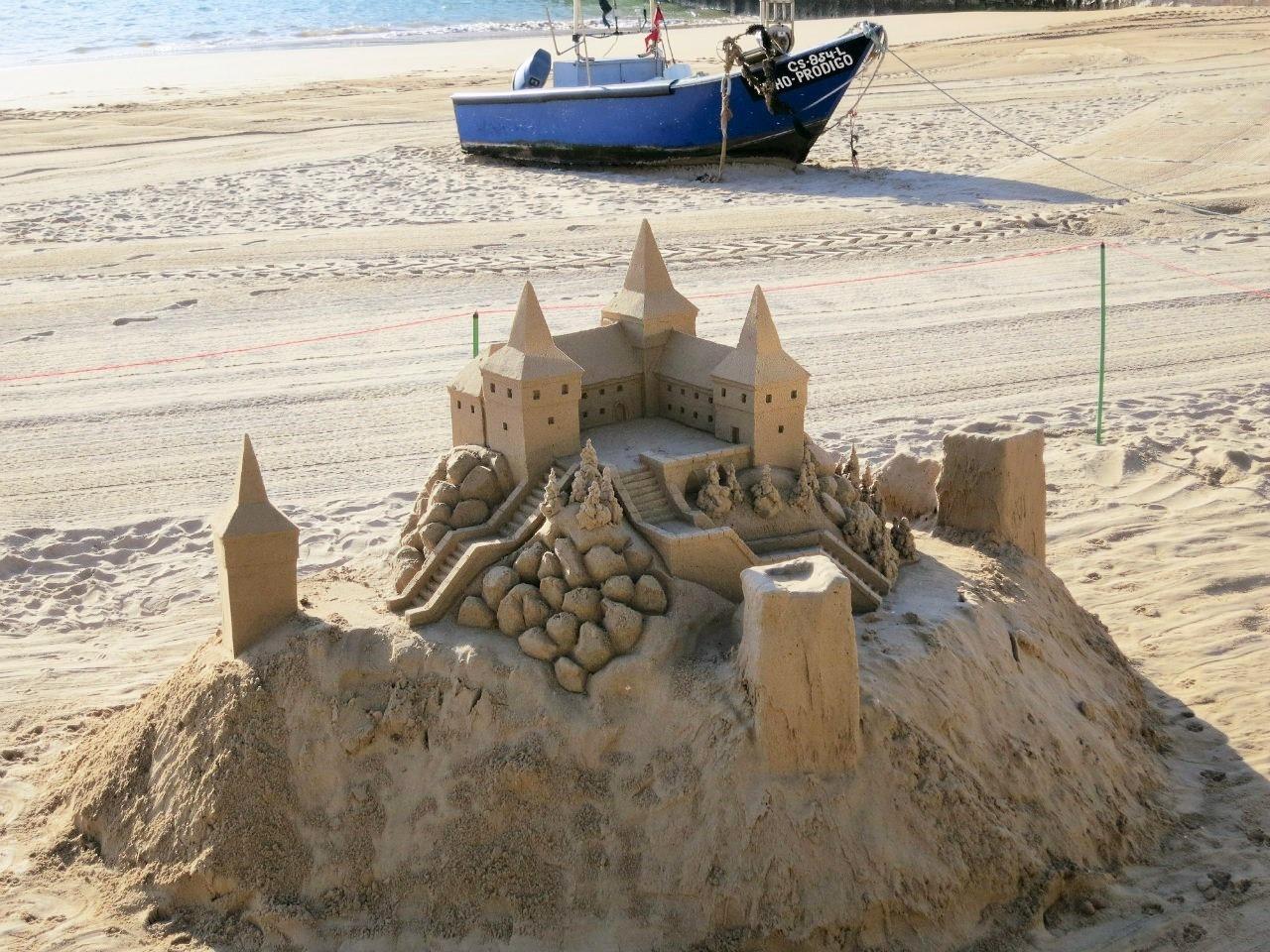 Замок из песка картинки смотреть