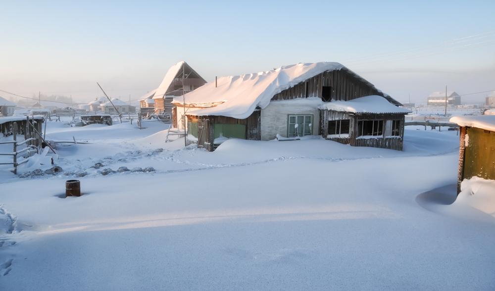 Жизнь в русской деревне фото