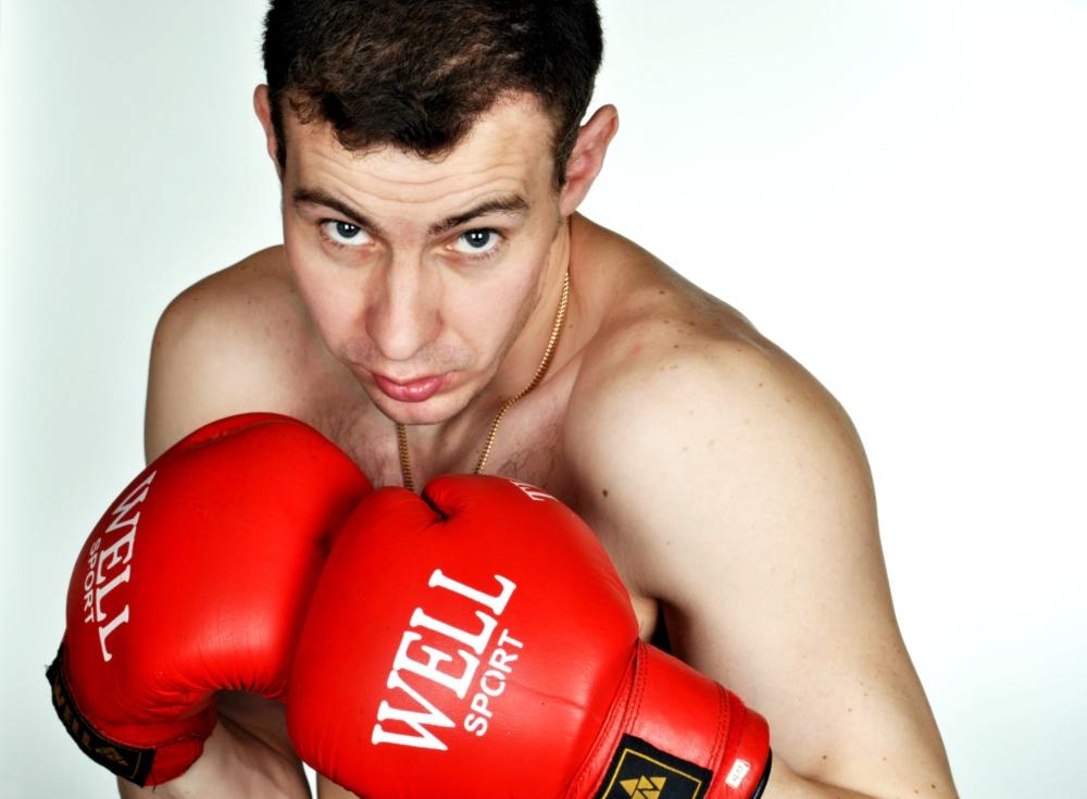 Картинка борец боксер