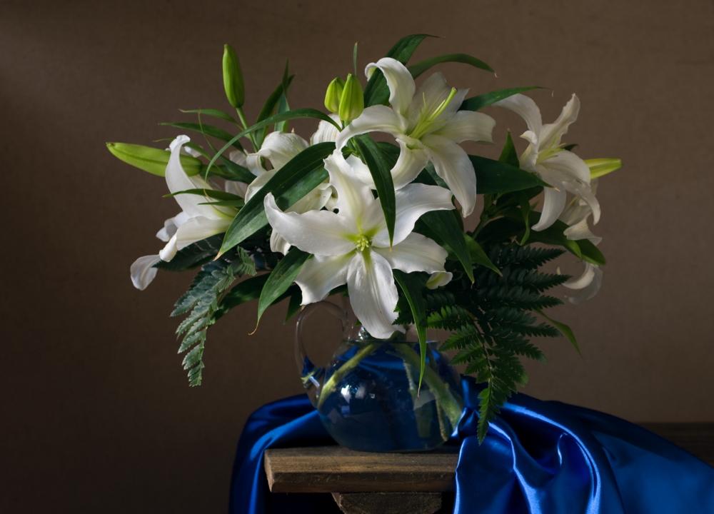 антикоррозийные художественные фото цветы лилии пинки