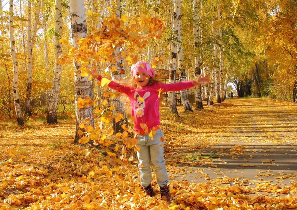 Гулял сентябрь кружил листвой картинки