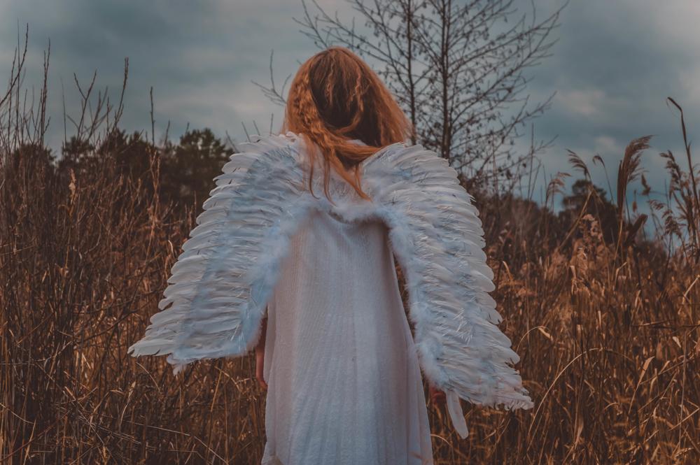 люди несведущие фото ангела с крыльями со спины вами