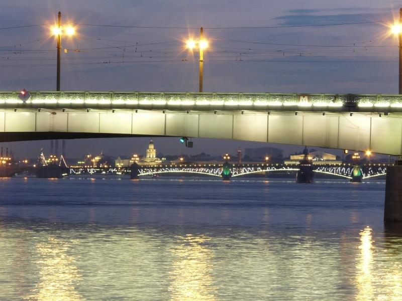 Мосты Белых Ночей.
