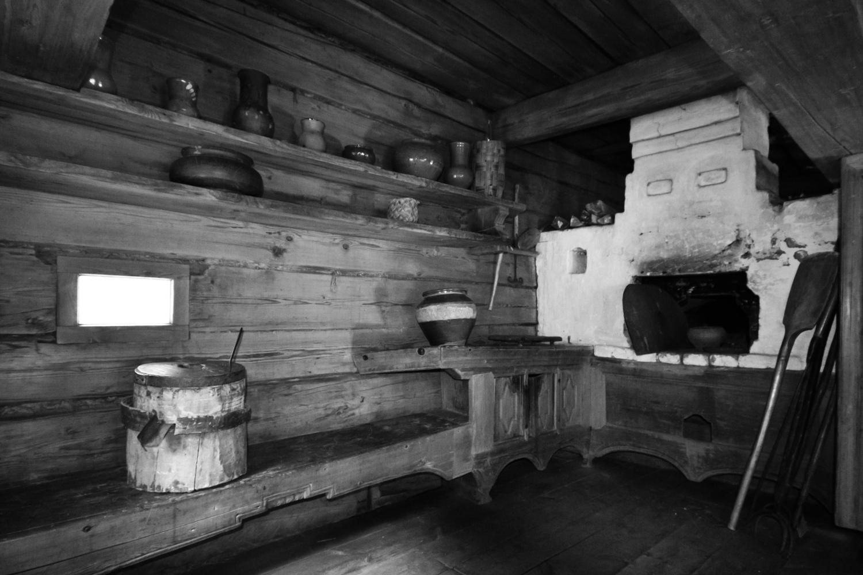 Картинка печка в избе