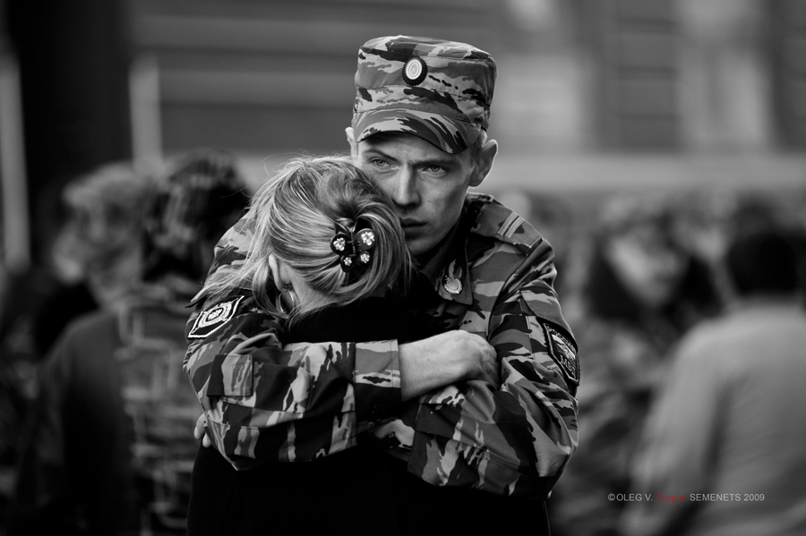 прощание солдата
