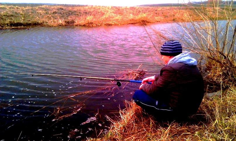 Ах эта весенняя рыбалка...