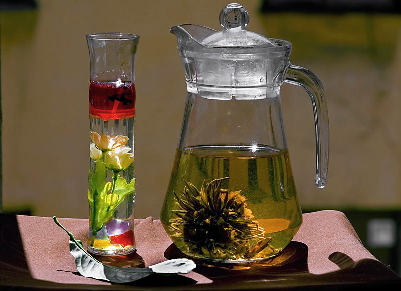 солнышко в чае