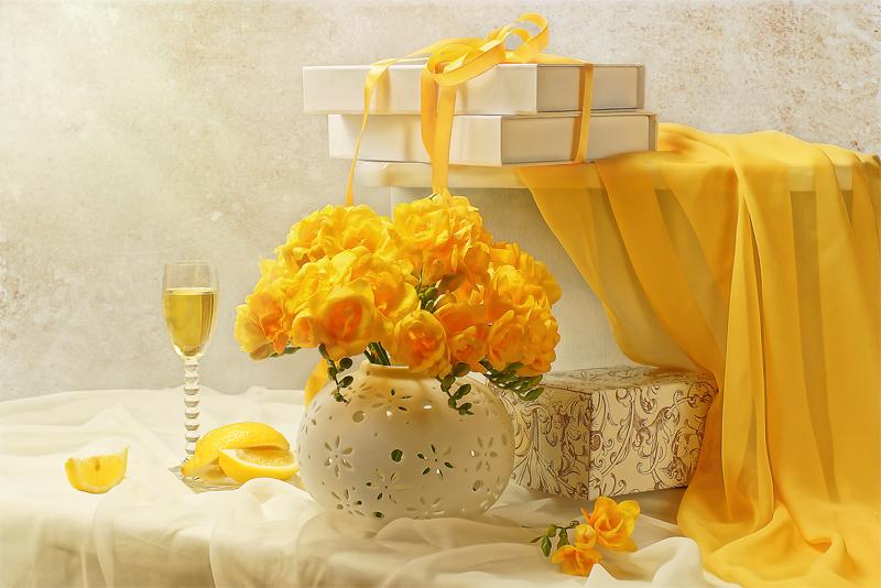Лучик солнца золотого в подарок