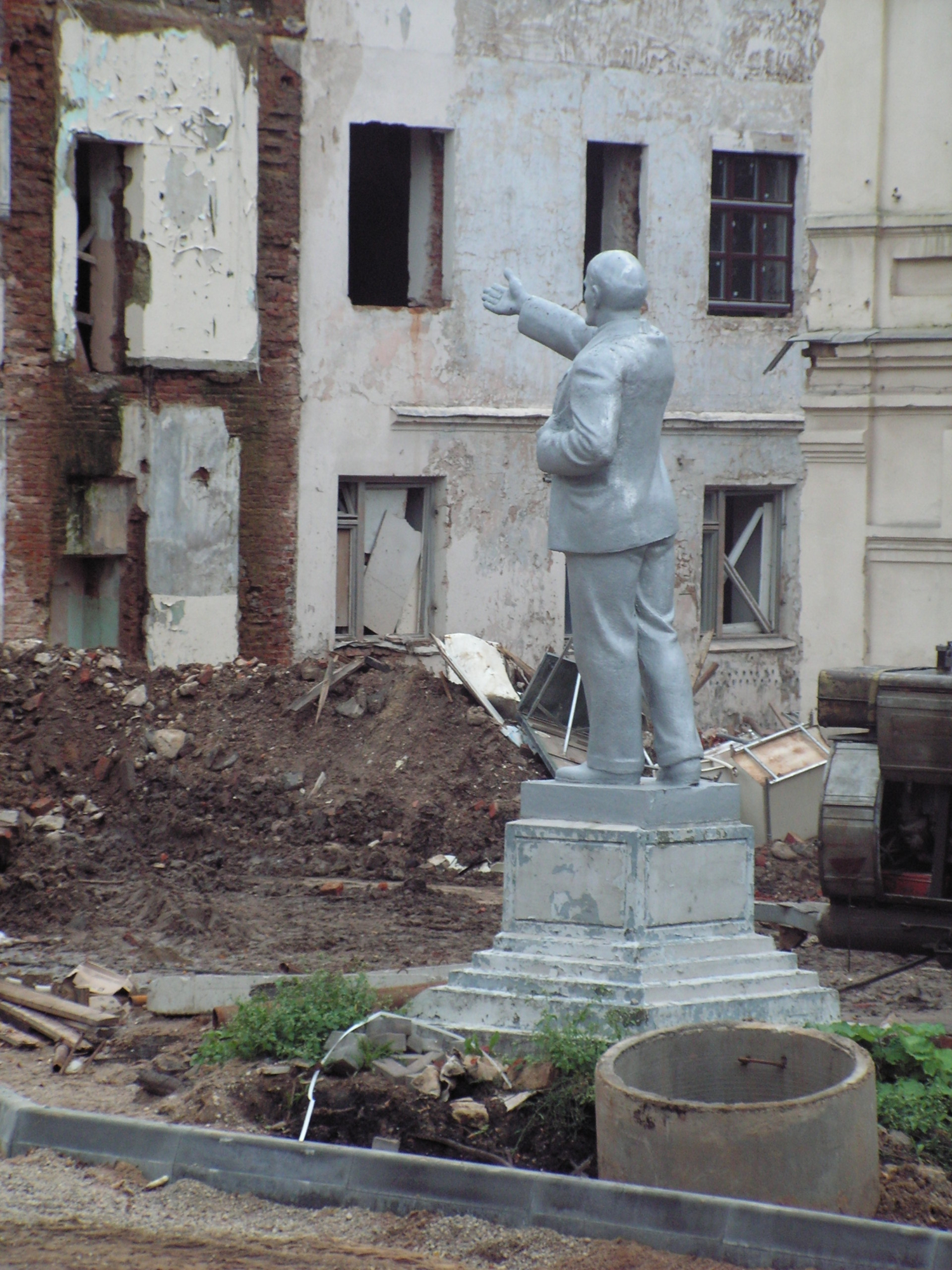 Ленин в Минске
