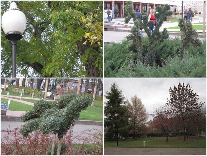 Осень в парке Горького