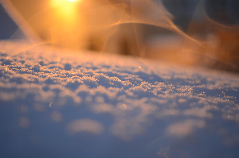 дыхание снега