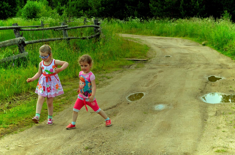 Хорошо в деревне летом!