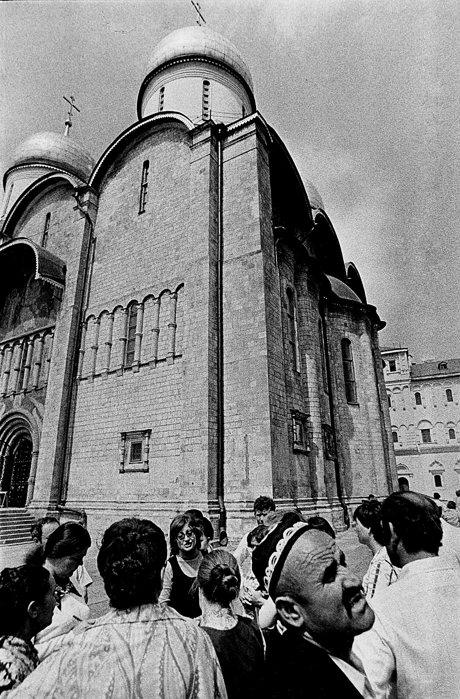 В московском Кремле. 1979 год