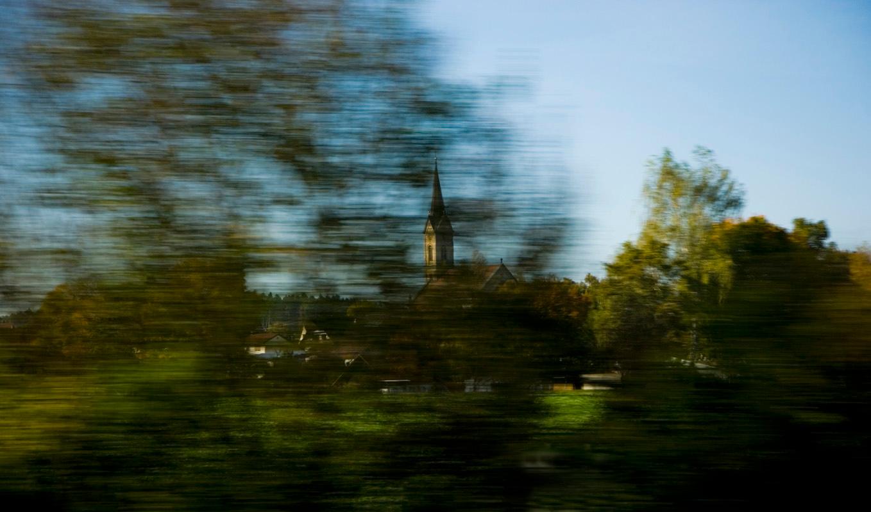 Проезжая мимо церкви.